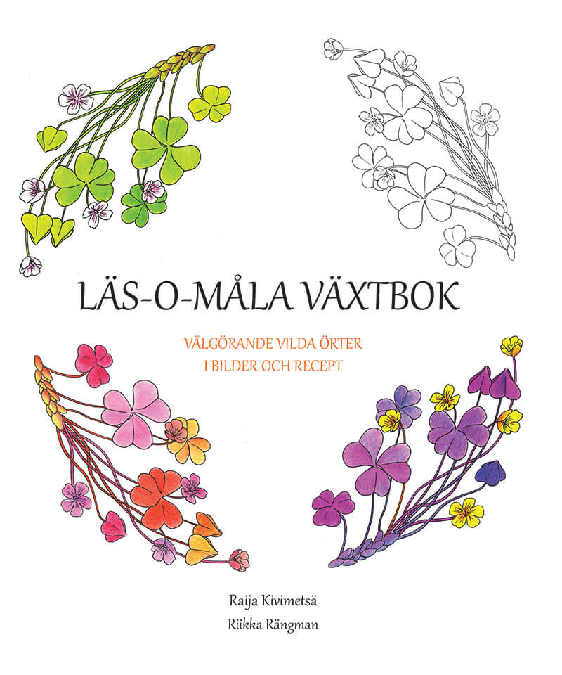 Läs-o-måla växtbok